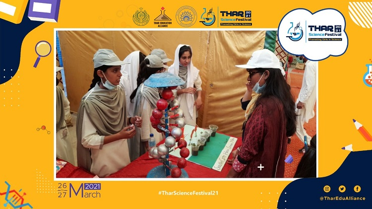 Thar Science Festival – 2021 held successfully by TEA, ECOSF and Local Government of Tharparkar on 26-27 March 2021 at Tharparkar District of Pakistan